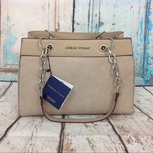 Adrienne Vittadini chain strap satchel